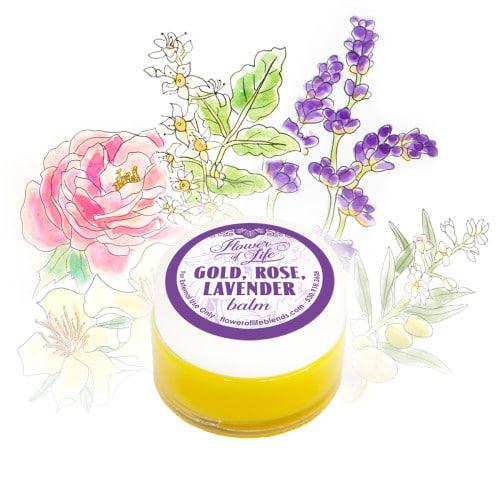 Gold Rose Lavender Balm
